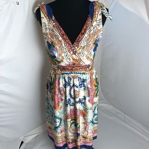 Anthropologie Collette Dinnigan silk dress